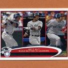 2012 Topps Baseball #033 Curtis Granderson / Robinson Cano / Adrian Gonzalez