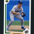 1991 Upper Deck Baseball #574 Edgar Martinez - Seattle Mariners