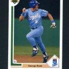 1991 Upper Deck Baseball #525 George Brett - Kansas City Royals