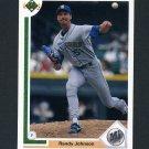 1991 Upper Deck Baseball #376 Randy Johnson - Seattle Mariners