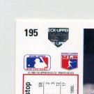 1991 Upper Deck Baseball #195 Jeff Huson - Texas Rangers Hologram Variation