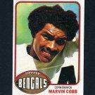 1976 Topps Football #292 Marvin Cobb RC - Cincinnati Bengals
