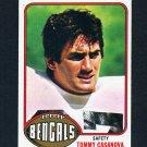 1976 Topps Football #235 Tommy Casanova - Cincinnati Bengals