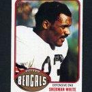 1976 Topps Football #168 Sherman White - Cincinnati Bengals