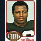 1976 Topps Football #071 Vern Holland - Cincinnati Bengals