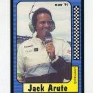 1991 Maxx Racing #221 Jack Arute