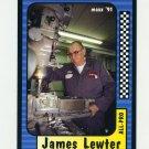 1991 Maxx Racing #211 James Lewter