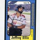 1991 Maxx Racing #141 Jeffrey Ellis
