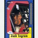 1991 Maxx Racing #138 Jack Ingram