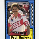 1991 Maxx Racing #135 Paul Andrews