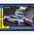 1991 Maxx Racing #122 Richard Petty / Rob Moroso Crash