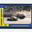 1991 Maxx Racing #118 Michael Waltrip Crash