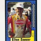 1991 Maxx Racing Card #092 Elton Sawyer