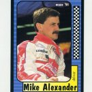 1991 Maxx Racing #085 Mike Alexander