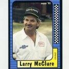 1991 Maxx Racing #081 Larry McClure