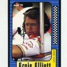 1991 Maxx Racing #072 Ernie Elliott