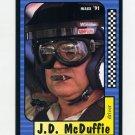 1991 Maxx Racing #070 J.D. McDuffie