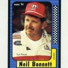 1991 Maxx Racing #036 Neil Bonnett