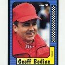 1991 Maxx Racing #011 Geoff Bodine