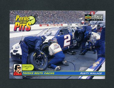 1998 Collector's Choice Racing #093 Rusty Wallace PP