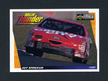 1998 Collector's Choice Racing #044 Hut Stricklin's Car