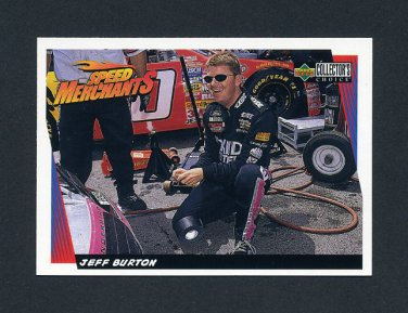 1998 Collector's Choice Racing #034 Jeff Burton