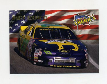 1996 Maxx Made in America Racing #014 Jimmy Spencer's Car