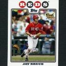 2008 Topps Update Baseball #UH100 Jay Bruce RC - Cincinnati Reds