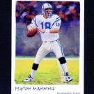 2002 Topps Gallery Football #009 Peyton Manning - Indianapolis Colts