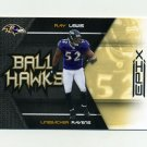 2010 Epix Ball Hawks Football #04 Ray Lewis - Baltimore Ravens