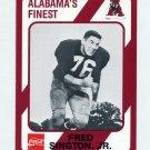 1989 Alabama Coke 580 Football #580 Fred Sington Jr. - Alabama Crimson Tide