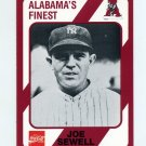 1989 Alabama Coke 580 Football #572 Joe Sewell - Alabama Crimson Tide