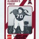1989 Alabama Coke 580 Football #562 Larry Joe Ruffin - Alabama Crimson Tide