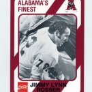 1989 Alabama Coke 580 Football #560 Jimmy Lynn Rosser - Alabama Crimson Tide