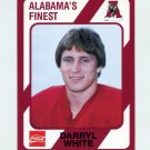 1989 Alabama Coke 580 Football #551 Darryl White - Alabama Crimson Tide