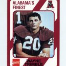 1989 Alabama Coke 580 Football #550 Wayne Trimble - Alabama Crimson Tide