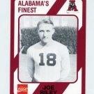 1989 Alabama Coke 580 Football #549 Joe Riley - Alabama Crimson Tide