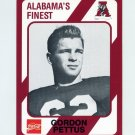 1989 Alabama Coke 580 Football #541 Gordon Pettus - Alabama Crimson Tide