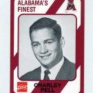 1989 Alabama Coke 580 Football #539 Charley Pell - Alabama Crimson Tide