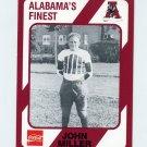 1989 Alabama Coke 580 Football #519 John Miller - Alabama Crimson Tide