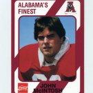 1989 Alabama Coke 580 Football #515 John McIntosh - Alabama Crimson Tide