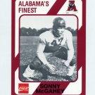 1989 Alabama Coke 580 Football #514 Sonny McGahey - Alabama Crimson Tide
