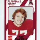 1989 Alabama Coke 580 Football #511 Ray Maxwell - Alabama Crimson Tide