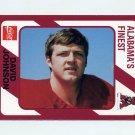 1989 Alabama Coke 580 Football #499 David Johnson - Alabama Crimson Tide