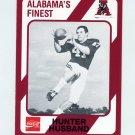 1989 Alabama Coke 580 Football #494 Hunter Husband - Alabama Crimson Tide