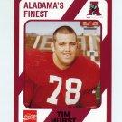 1989 Alabama Coke 580 Football #493 Tim Hurst - Alabama Crimson Tide