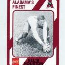 1989 Alabama Coke 580 Football #487 Ellis Houston - Alabama Crimson Tide