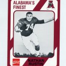 1989 Alabama Coke 580 Football #485 Nathan Rustin - Alabama Crimson Tide