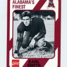 1989 Alabama Coke 580 Football #482 Earl Smith - Alabama Crimson Tide