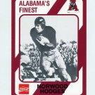 1989 Alabama Coke 580 Football #481 Norwood Hodges - Alabama Crimson Tide